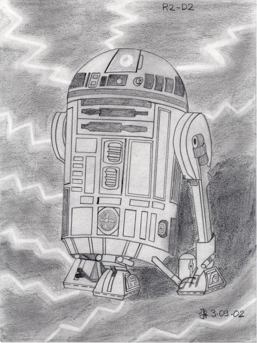 R2-D2 by Ynnej59